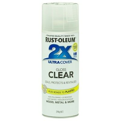 Rust-Oleum 298g Gloss Clear 2X Ultra Cover Spray Paint