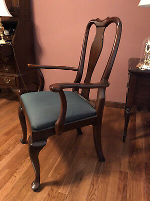Ethan Allen Georgian Court Cherry Arm Chair