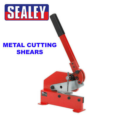 Sealey Metal Cutting Shears/Cropper/Guillotine 6mm Capacity 13mm Round - 3S/6R