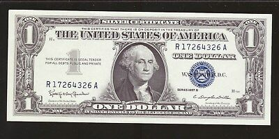 1957-B $1 Silver Certificate Uncirculated Buy One Or All 32 Consecutive
