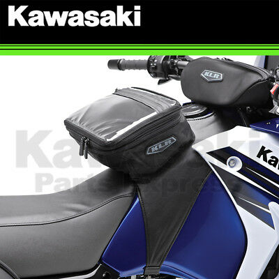 New 2008 - 2018 Genuine Kawasaki Klr 650 Soft Tank Bag & Handlebar Bag Combo