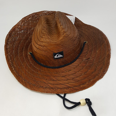 21bfd7f1f01f8 QUIKSILVER YOUNG MENS Pierside Straw Hat Hat