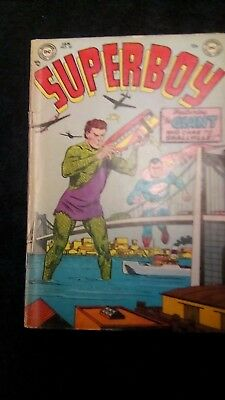 Superboy no 30 Jan 1954 comic