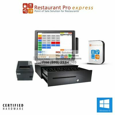 PCAMERICA POS SYSTEM RPE PRO RESTAURANT POS-X ION Fit ALL-IN-ONE