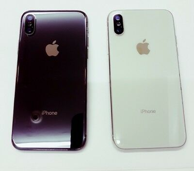 iPhone 8 8 Plus X Back Rear Glass Chassis Frame Battery Door Housing