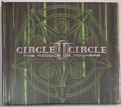 CIRCLE II CIRCLE - THE MIDDLE OF NOWHERE +BONUS TR.( Ltd.Digibook CD 2005 )*Seal