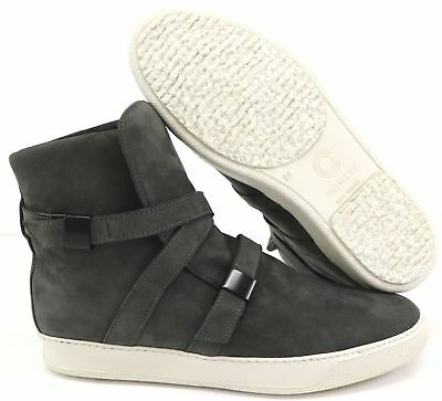 Cream Leather Buckle High Top Men/'s Trainers Cipher Parallax Classic Putty