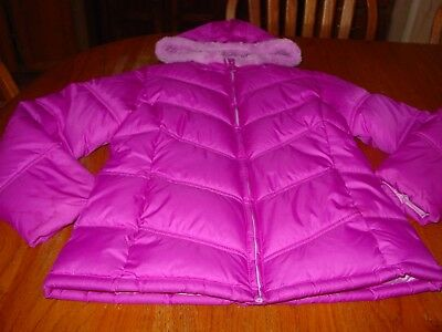 Girls Size 10-12  Faded Glory  Medium to Heavy Weight  Winter Coat  NWOT