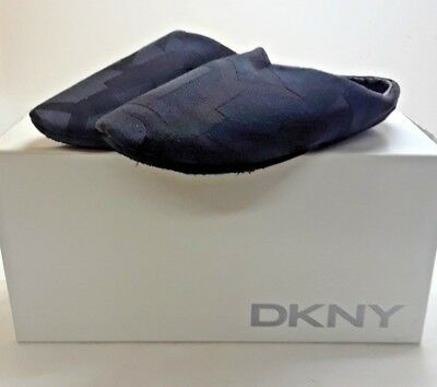 NEW DKNY ladies girls merrie-slipper mule black size 5 New in Box