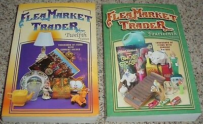 Set Of 2 Flea Market Trader Books 12Th & 14Th Edition Sb