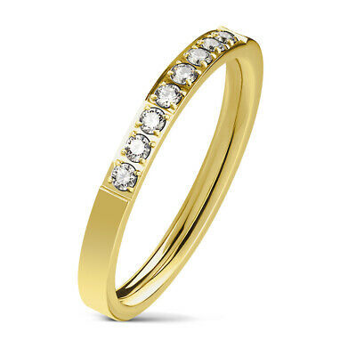 Tapsi ´S ´S Coolbodyart Ladies Finger Ring Band Stainless Steel Gold/ Silver/
