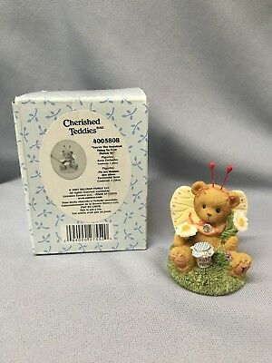 """BRAND NEW 2007 Cherished Teddies """"You're the Sweetest Thing to Ever Flutter By"""""""