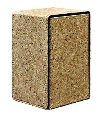 Ultra Pro MTG Magic the Gathering Alcove Flip Tower Deck Box - Cork BRAND NEW!^