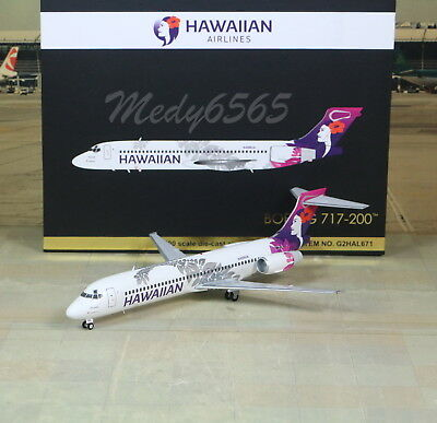 "Gemini Jets Hawaiian ""New Color"" B717-200  1/200"