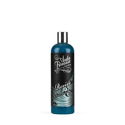Auto Finesse RVT500 0.5L Revive Trim Gel 500ml Silicone Based Dressing