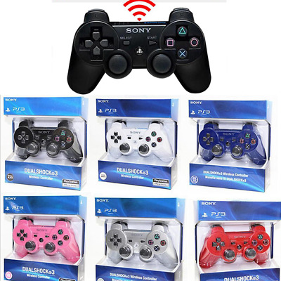 7 Farben Wireless Bluetooth Game Controller Gamepad Joystick Für PS3 Telefon PC