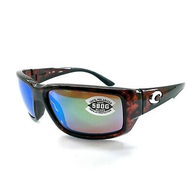 4a6b771a50be NEW Costa del Mar Fantail TF 10 OGMGLP Tortoise Frame / Green Mirror 580G  Lenses