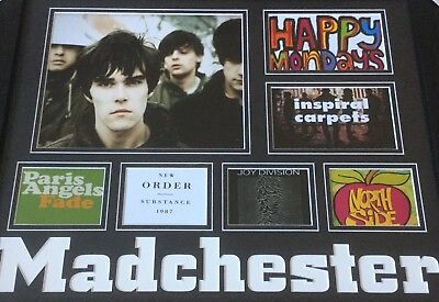 MADCHESTER 20x16 bands montage Happy Monday's The Smiths Paris Angles North Side