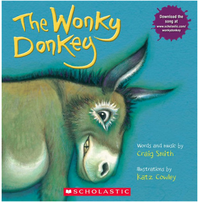 The Wonky Donkey by Craig Smith 2010 Paperback Toddler Kids Book