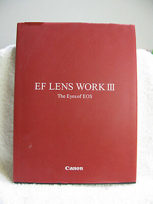 """Canon  EF LENS WORK 3  """"The eyes of EOS""""  Excellent Condition."""