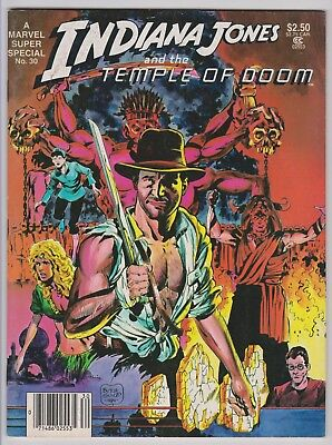 Marvel Comics Super Special #30 (1984) Indiana Jones and the Temple of Doom