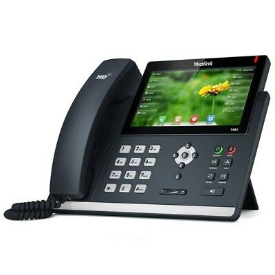 Yealink T48S-SIP IP Phone (with AC adapter) - Gigabit VoIP, Optima HD Audio