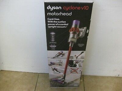Dyson Stainless Steel Cyclone V10 Motorhead Cordless Stick Vacuum Cleaner