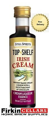 Still Spirits Top Shelf Irish Cream Liqueur Home Brew Spirit Flavour Essence