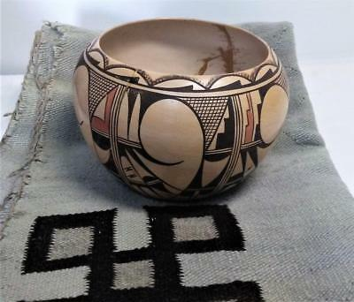 Vintage Hopi Indian Poterry by the famous Pauline Setalla southwest potter