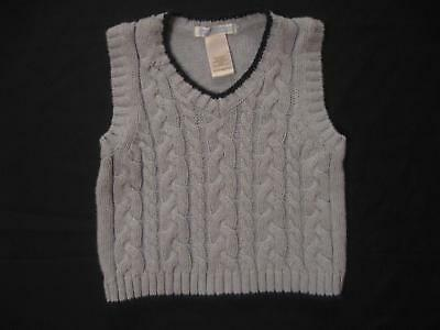 b3b26107c JANIE AND JACK Baby Boy 3-6M Light Blue Cable Knit Cotton Sweater ...