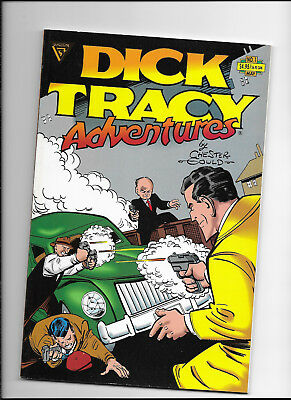 Dick Tracy Adventures #1 {May 1991 Gladstone} Nm Square-Back With Rigid Covers!
