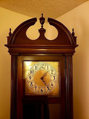 Unbranded Vintage Grandfather Clock - 1930