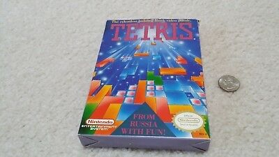 Nintendo NES Tetris CIB Complete with box, manual, inserts & Dust Cover