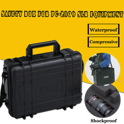 Waterproof Camera Photography Tool Carry Case Storage Box For PC-2809 PC-3810