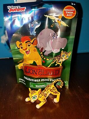 New in bag THE LION GUARD BATTLE FULI mini blind bag figure Disney Jr. Series 3
