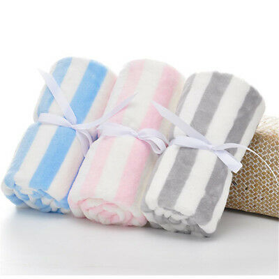 09af5de807606 Baby Blanket Winter Newborn Fleece Swaddling Warm Soft Baby Bedding