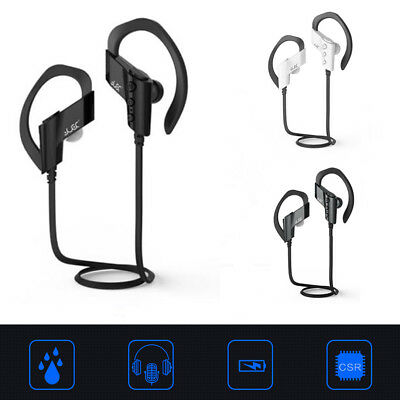 Wirelss Bluetooth4.1 Stereo Heaset With Mic Handfree Waterproof& Sweat-resistant