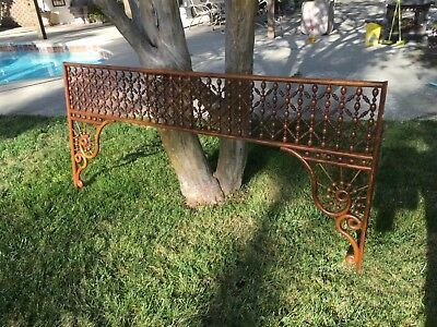 "Large Antique Stick and Ball Fretwork. Oak. 71"" by 33.5"""