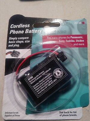 GE TL26156 Cordless Phone Battery Cordless Telephone Batteries, New