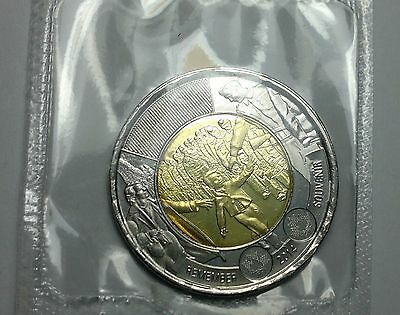 2014 CANADA $2 COIN, WAIT FOR ME DADDY, mint sealed
