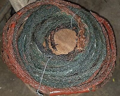 48' Vintage Copper Woven Ground Wire Lightning Rod Cable one piece Crafting 8.4#