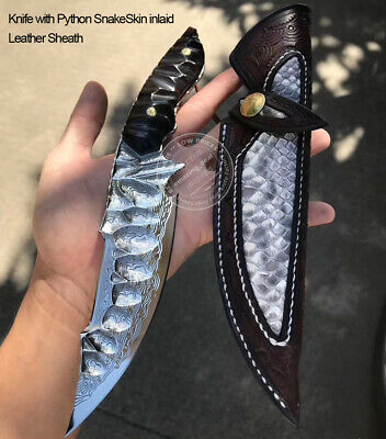 Japanese Damascus Vg10 Hunting Knife Fixed Blade Knife Army Rescue Knife Camping