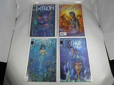 Top Cow Image Michael Turner's Fathom #1 Vol 2 Variants with #2 & 3
