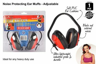 Noise Protection Ear Muffs Low Profile Industrial Grade Light Weight Kids 2019