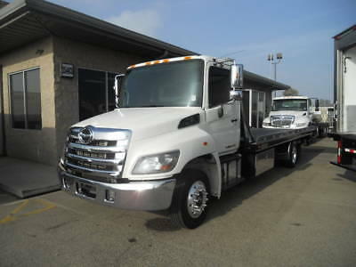 Hino 268 24ft stakebed flatbed liftgate freightliner international peterbilt gmc