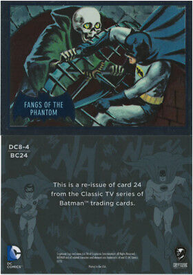 Justice League Batman Classic TV Series SDCC Promo Card DC8-4 Cryptozoic 2016