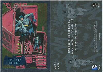 Justice League Batman Classic TV Series SDCC Promo Card DC8-1 Cryptozoic 2016