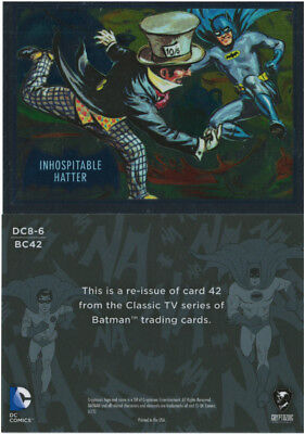 Justice League Batman Classic TV Series SDCC Promo Card DC8-6 Cryptozoic 2016