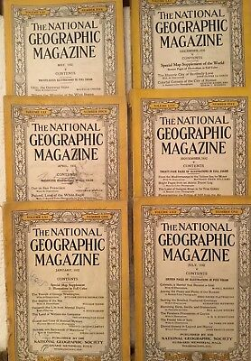 National Geographic Collection 532 Editions Include Maps 1930 40 50 70 thru 2005