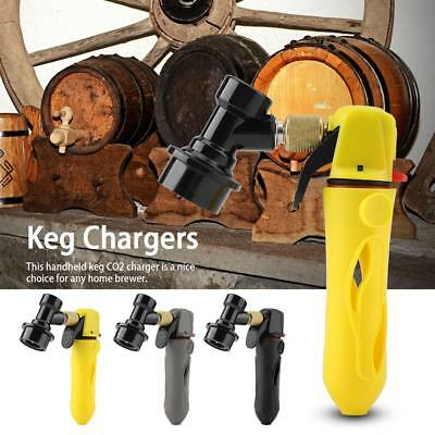 Keg Charger Co2 Injector Draft Beer Dispenser & Pin lock Fitting Homebrew Soda